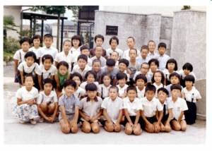 大桐小学校同窓会・向畦地先生を囲む会
